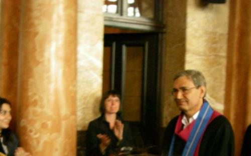 May 2011: Visit of the Novel prize winner Turkish writer Orhan Pamuk in Bulgaria