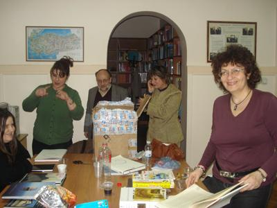 May 2011: – Balkan Cultural Institute received a donation by the Ministry of Culture of Turkey